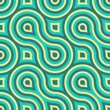 几何无缝的样式 库存图片