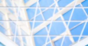 几何蓝色抽象背景 免版税库存照片