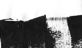 几何街道画摘要背景 与油水彩作用的墙纸 黑丙烯酸漆冲程纹理 库存照片