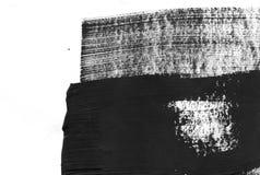 几何街道画摘要背景 与油水彩作用的墙纸 黑丙烯酸漆冲程纹理 免版税库存图片