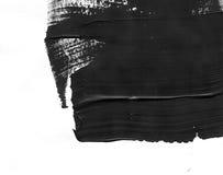 几何街道画摘要背景 与油水彩作用的墙纸 黑丙烯酸漆冲程纹理 免版税图库摄影