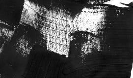 几何街道画摘要背景 与油水彩作用的墙纸 黑丙烯酸漆冲程纹理 免版税库存照片