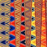 几何装饰品,可以是挂毯的背景 免版税库存照片