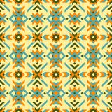 几何部族无缝的样式 库存例证