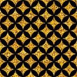 几何金子pattern7 图库摄影