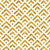 几何金子pattern6 免版税图库摄影