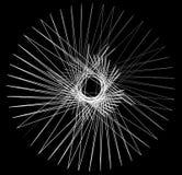 几何锋利任意形状 抽象织地不很细设计 库存例证