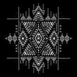 几何阿兹台克样式 部族纹身花刺样式可以为纺织品,瑜伽席子,电话盒,地毯使用 库存照片