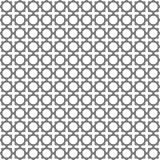 几何阿拉伯伊斯兰教的无缝的样式 免版税库存图片