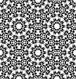 几何阿拉伯无缝的样式 库存照片