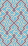几何阿拉伯的盖子 免版税库存图片