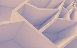 几何颜色摘要多角形墙纸 免版税库存图片