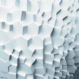 几何颜色摘要多角形,作为高明的墙壁 12内部 免版税库存照片