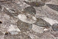 几何马赛克在Csiarii上升暖流浴的化装室 库存图片