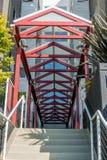 几何玻璃屋顶 免版税库存图片