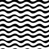 几何黑白图形设计印刷品织法样式 免版税库存图片