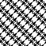 几何黑白行家时尚枕头样式 库存图片