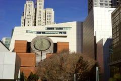 几何建筑学在旧金山 图库摄影