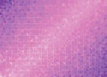 几何紫色背景 免版税库存图片