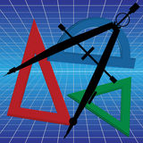 几何 图库摄影