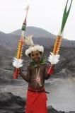 几内亚新的巴布亚人员 免版税库存照片
