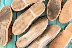 几双鞋子 库存照片