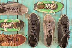 几双鞋子 免版税图库摄影