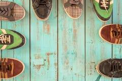 几双鞋子 图库摄影