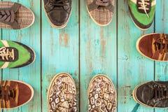 几双鞋子 免版税库存照片