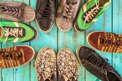 几双鞋子 免版税库存图片