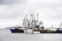 几天末端在Wellfleet港口 免版税库存图片
