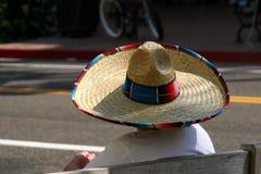 几天阔边帽西班牙语 库存图片