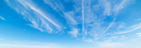 几朵软的云彩 免版税图库摄影