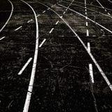 几条赛马跑道 免版税库存图片