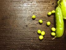 几豌豆荚 库存图片