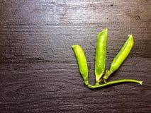 几豌豆荚 免版税图库摄影