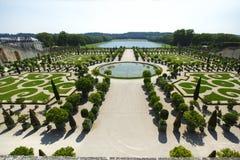凡尔赛从事园艺法国 库存图片