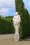 凡尔赛公园地区雕塑  库存照片