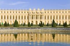 凡尔赛城堡在法国 免版税库存照片