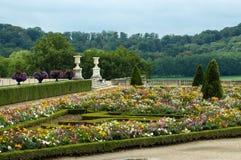 凡尔赛城堡庭院  免版税库存图片