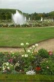 凡尔赛城堡庭院  图库摄影