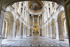 凡尔赛城堡,巴黎,法国 免版税库存照片