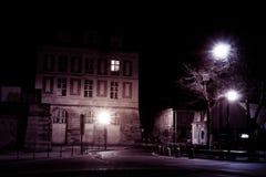 凡尔赛夜雕塑纪念碑 免版税库存图片