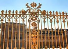 凡尔赛宫位于城市的中心位于大约16英里外面 库存照片