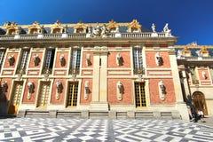 凡尔赛宫位于城市的中心位于大约16英里外面 库存图片