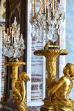 凡尔赛宫在利-德-法兰西 免版税图库摄影
