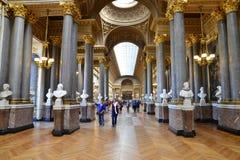 凡尔赛宫在利-德-法兰西 库存照片
