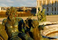 凡尔赛宫庭院-法国 库存图片