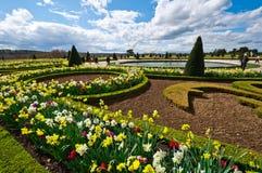 凡尔赛宫庭院  库存图片