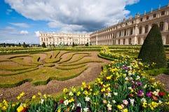 凡尔赛宫庭院  免版税库存图片